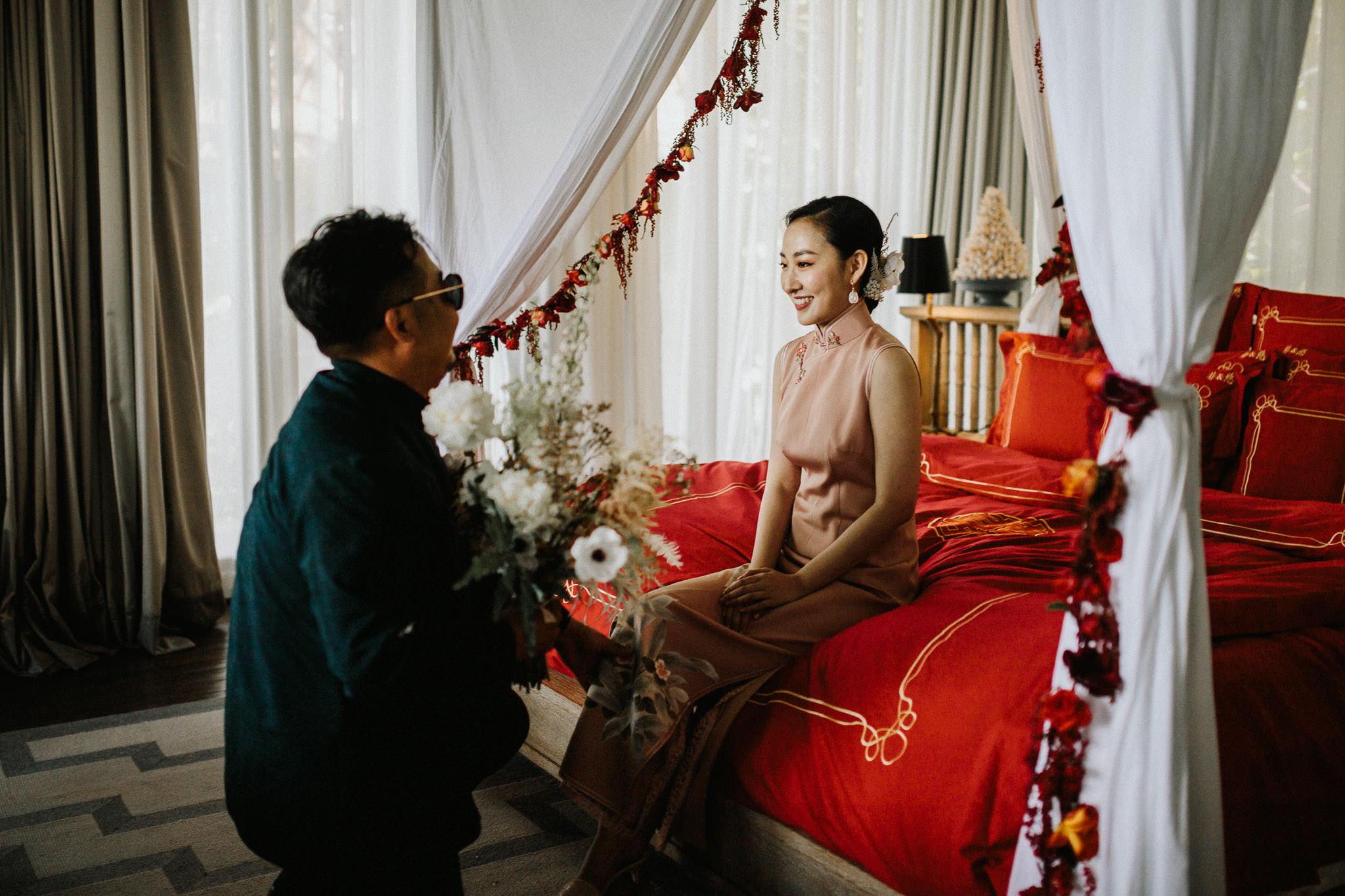 Chinese Destination Wedding in Vietnam Da Nang Peninsula Resort
