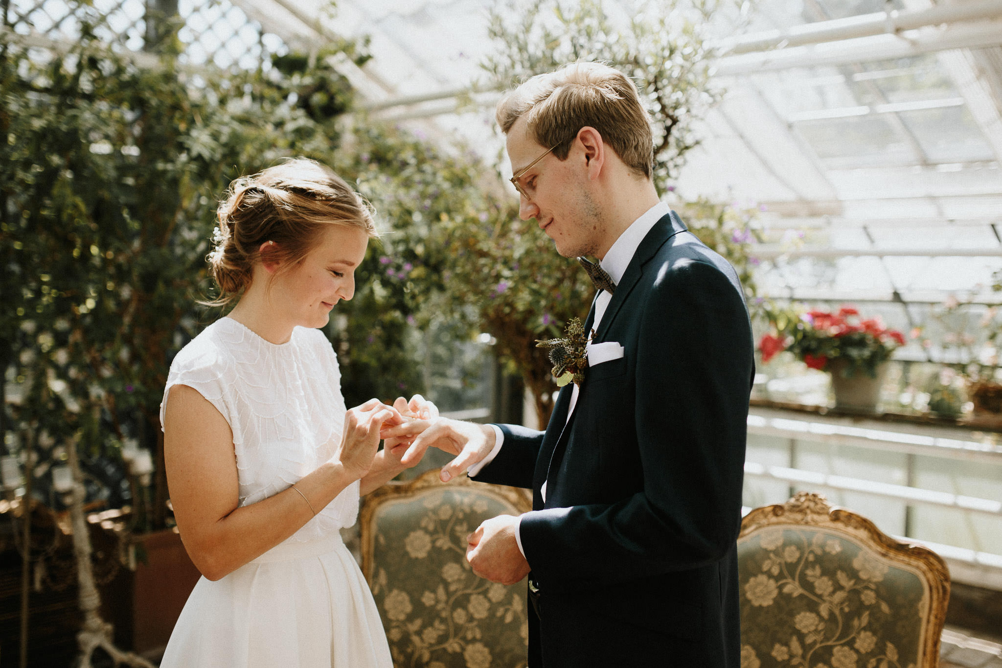 Hochzeitsfotograf München Boho Hochzeit in der Alten Gärtnerei München