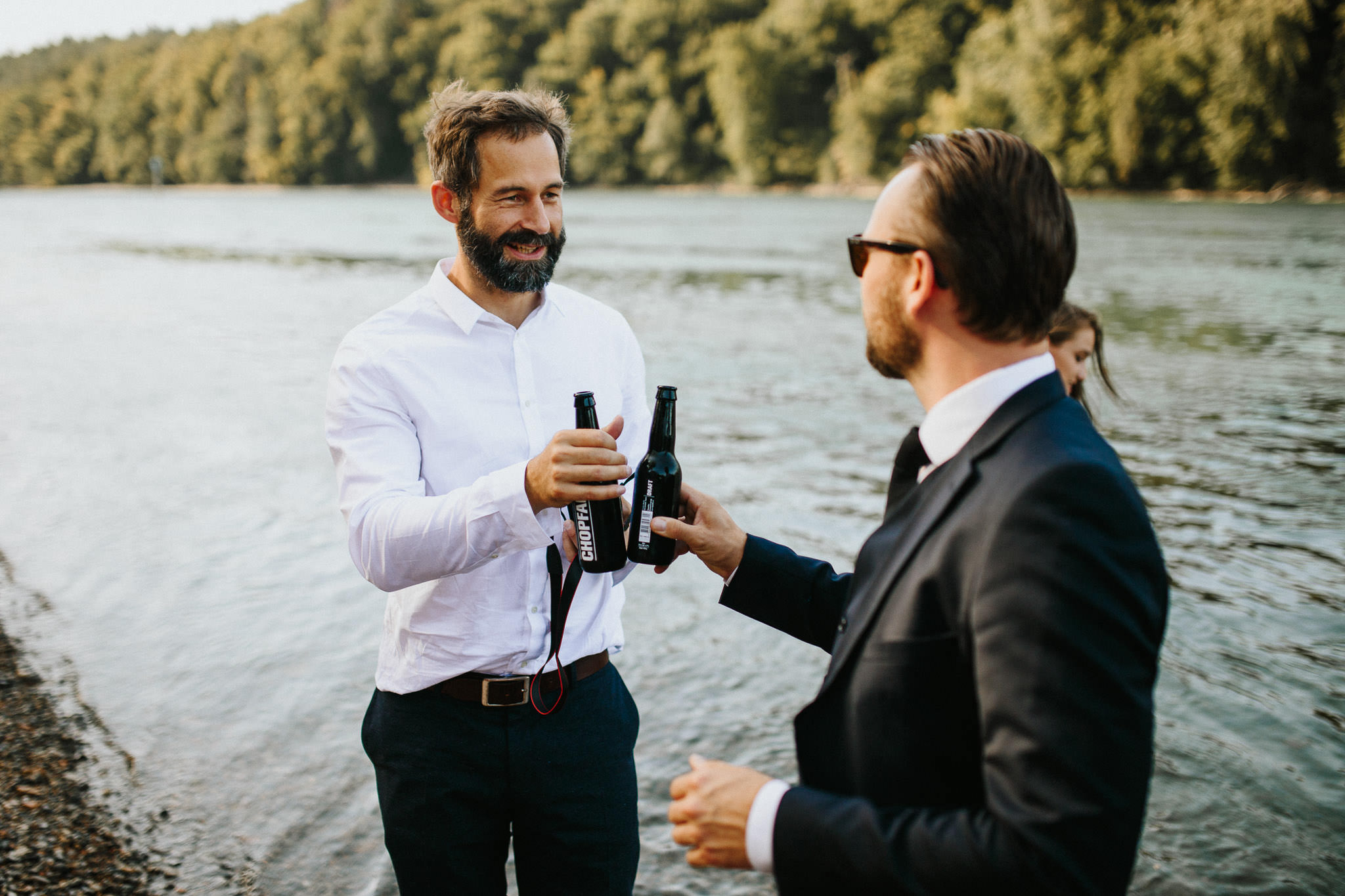 Sommerliche Boho Hochzeit im Gasthof Schupfen in Diessenhofen am Rhein in der Schweiz