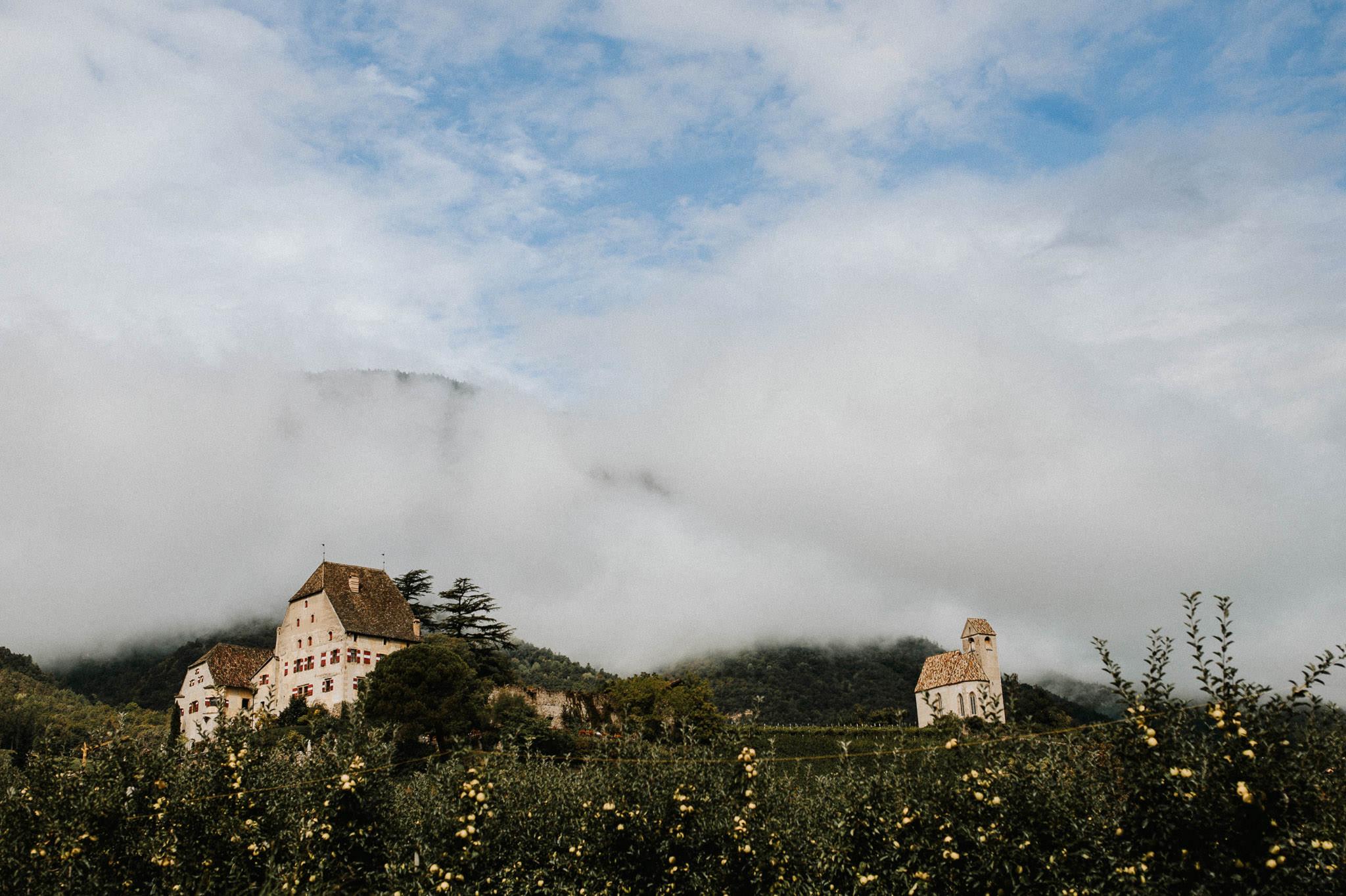 Hochzeit Schloss Englar in Eppan Bozen Südtirol